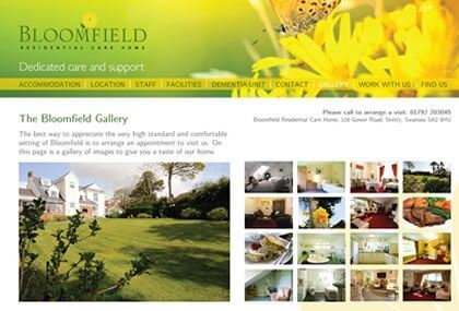 Bloomfield Residential Care Home Web Site