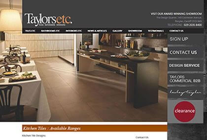 Taylors ETC Website